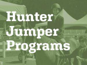 hunter jumper programs